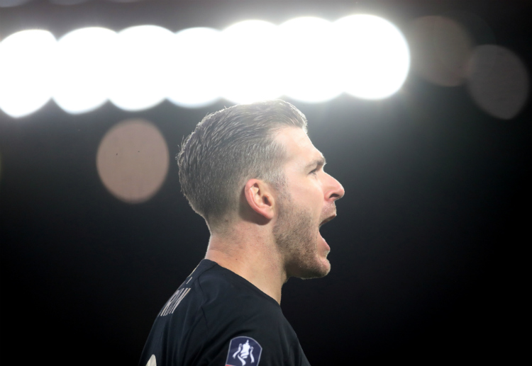 FA Cup: Liverpool's Adrian made three saves against Everton