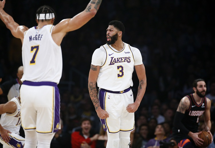 Western Conference leaders Lakers beat the Phoenix Suns 117-107 for 3rd straight NBA win
