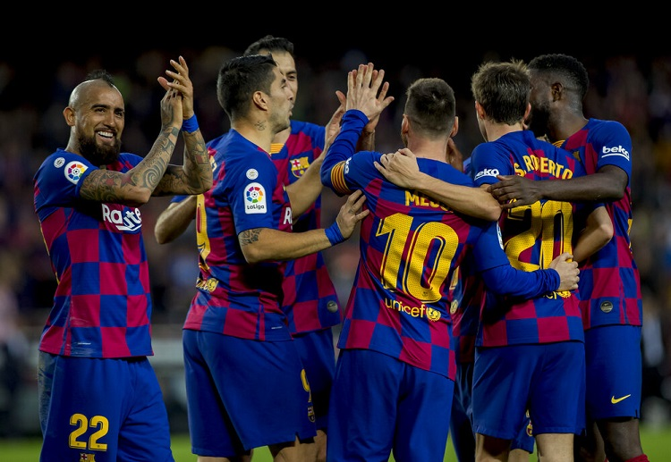 Barcelona will be looking for their 100th head-to-head win against their rival Espanyol in La Liga