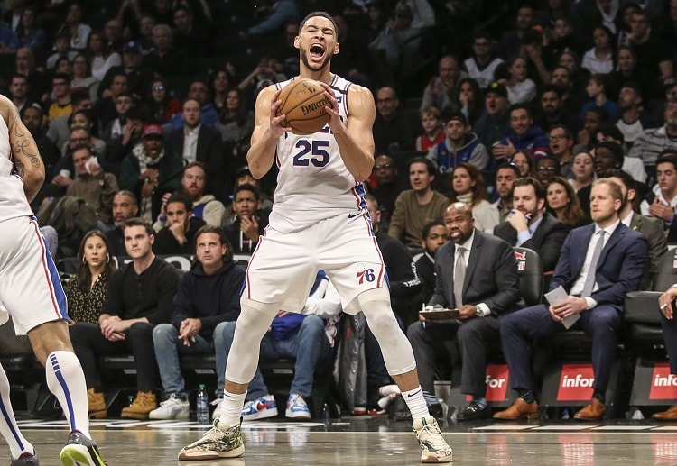 Ben Simmons tied a career high with 34 points to send the Philadelphia 76ers to a 117-111 NBA win over the Brooklyn Nets