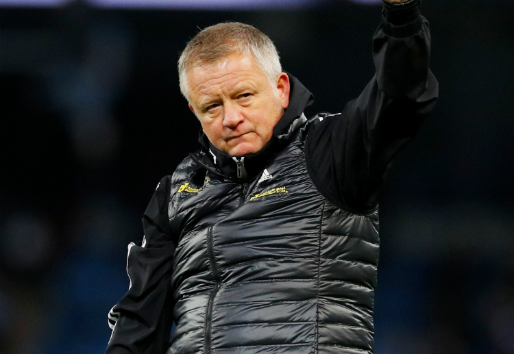 Chris Wilder's men are currently sitting on the 8th spot of Premier League table