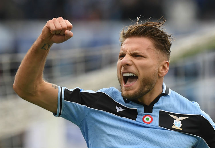 Can Ciro Immobile add more goals to his account and lead AS Roma to Serie A victory?