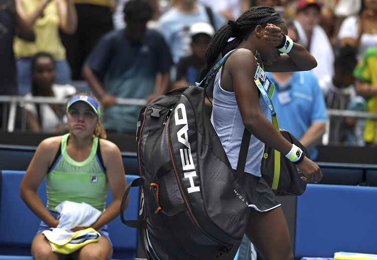 Coco Gauff missed the chance to make it to the quarterfinals of Australian Open