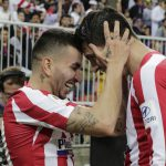 Angel Correa scored Atletico Madrid's late 3-2 stunner in Spanish Super Cup semifinal after a howler from Barcelona