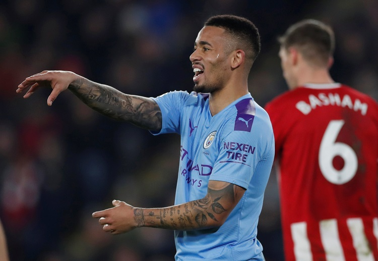 Despite failing to score, Gabriel Jesus is delighted as Man City win their Premier League match against Sheffield United