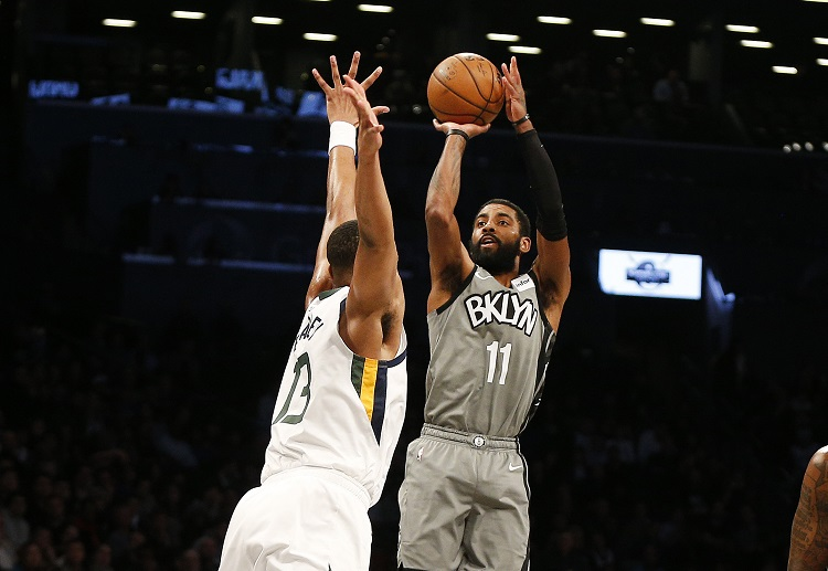 Brooklyn Nets travel to Wells Fargo Center for an NBA face off against the Philadelphia 76ers