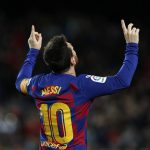 Leo Messi leads Barcelona to settle at the top of La Liga table after hitting a goal against Granada