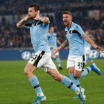 Francesco Acerbi ended Lazio's Serie A match against AS Roma in a draw