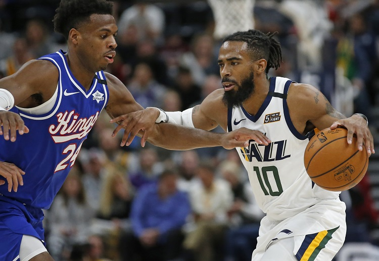 Mike Conley returns to action for Utah Jazz as they head to the Chase Center to face the Golden State Warriors