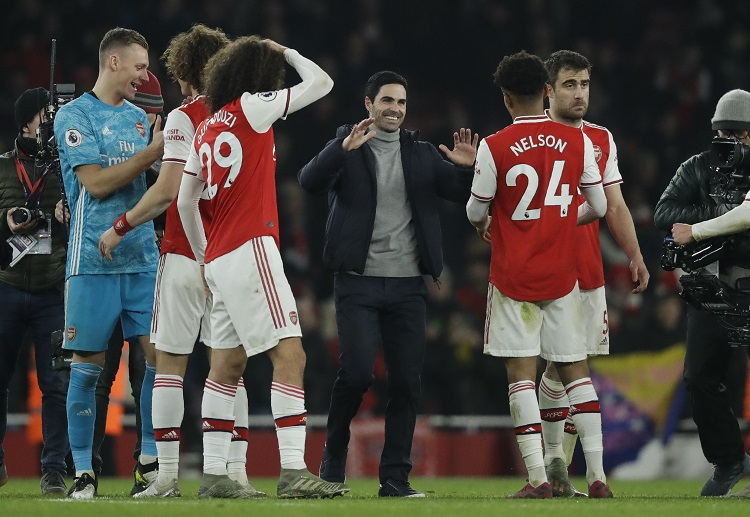 Arsenal produced a powerful first-half performance in Premier League clash against Manchester United