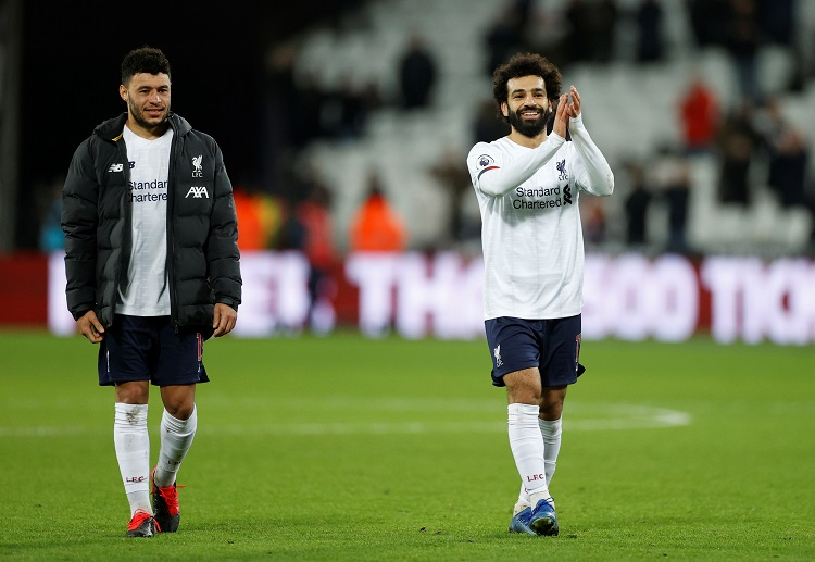 Liverpool ace Mohamed Salah stepped up in Sadio Mane's absence for Premier League encounter with West Ham United