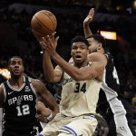 Giannis Antetokounmpo has been leading the Bucks to an NBA-best record