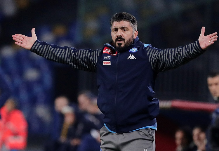 Napoli are 18 points behind Serie A leaders Inter Milan