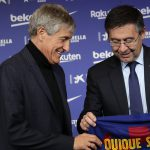 Quique Setien prepares for first La Liga match against Granada as the new Barcelona manager