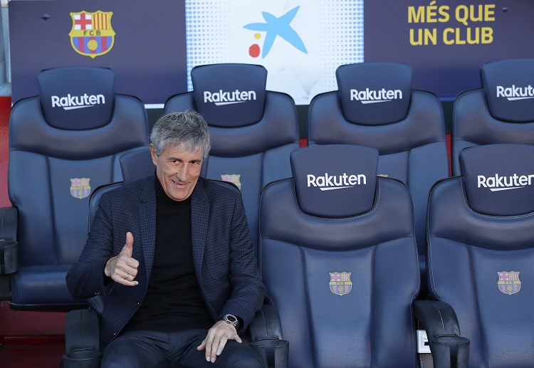 Quique Setien will have a tough task leading his new Barca squad in the Champions League