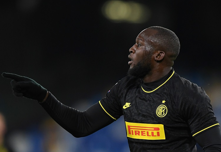 Romelu Lukaku's goals gave Inter Milan a 1-3 win over Napoli to pull even with Serie A leaders Juventus atop the table