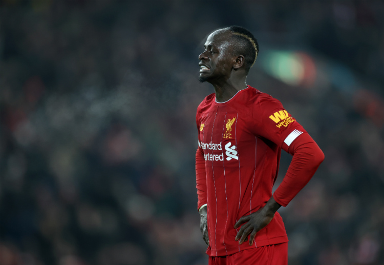 Premier League: Sadio Mane was substituted in the first half of their match against Manchester United due to injury