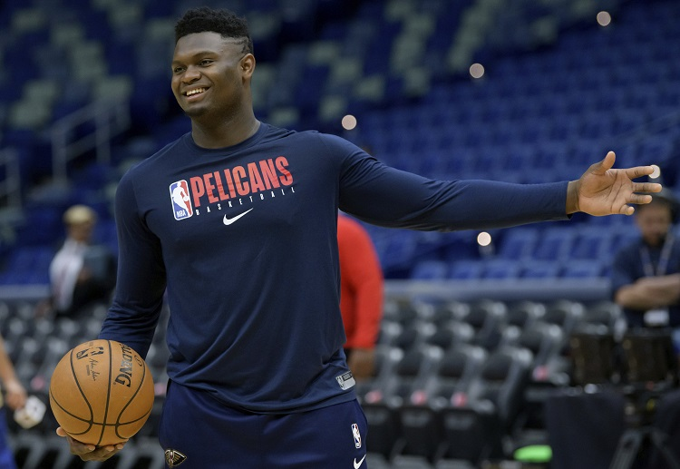 New Orleans Pelicans rookie Zion Williamson prepares for his NBA pro debut at the Smoothie King Center