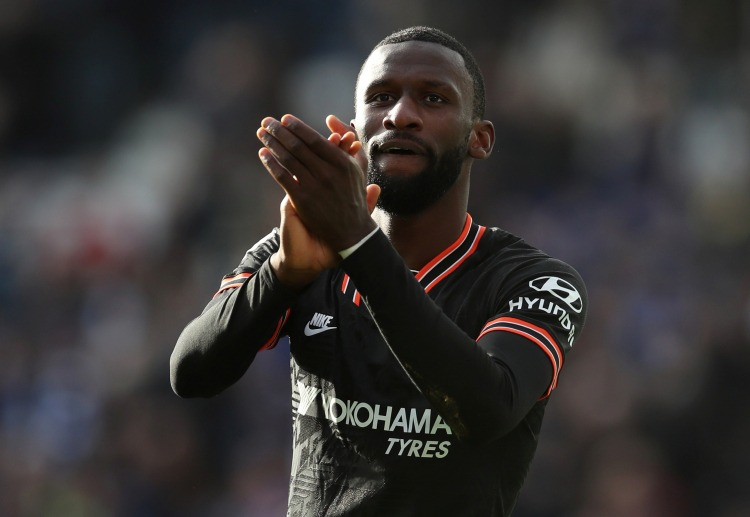 Chelsea's Antonio Rudiger hits two goals to seal a 2-2 draw with Leicester City in Premier League