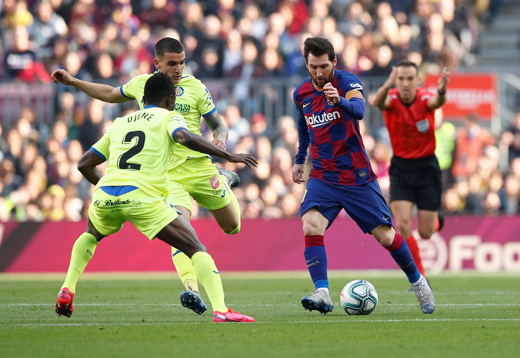 Barcelona have a record of 10 wins and 1 draw against Eibar in La Liga