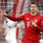 Robert Lewandowski is the man of the match for Bayern after helping them secure a win in DFB Pokal Round of 16