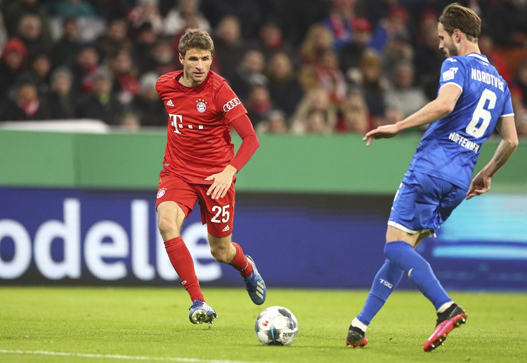 Thomas Muller also contributes to Bayern Munich's win over Hoffenheim in DFB Pokal