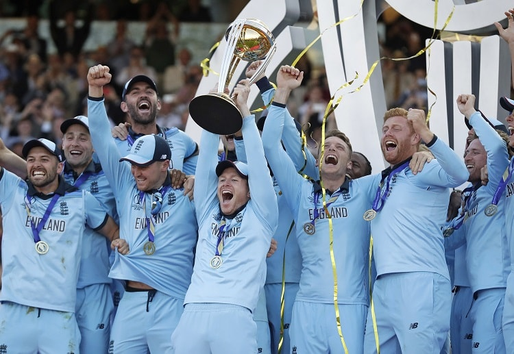 England beat New Zealand during the 2019 Cricket World Cup to win their first ODI 50-over trophy