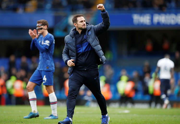Frank Lampard and Chelsea complete a Premier League double over Tottenham this season