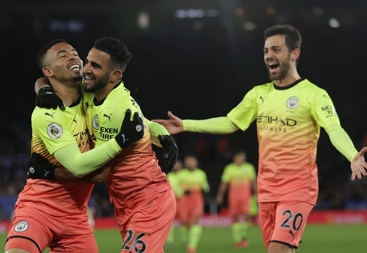 Gabriel Jesus leads Manchester City to a victory against Leicester in the Premier League