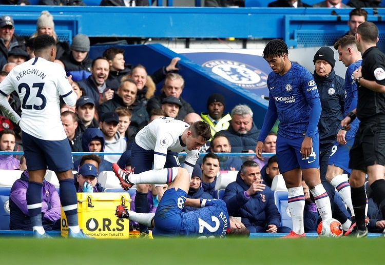 Tottenham Hotspur's Giovani Lo Celso controversially avoids a red card during their Premier League clash against Chelsea