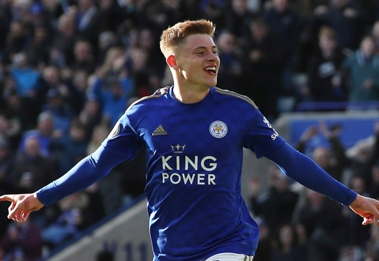 Harvey Barnes hits a second-half equaliser for Leicester City during their Premier League battle against Chelsea