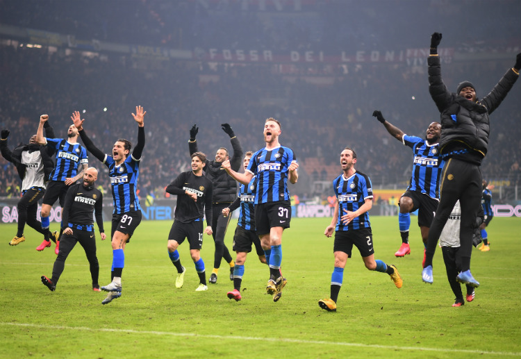 Inter Milan ended their Serie A match against AC Milan in a 4-2 win