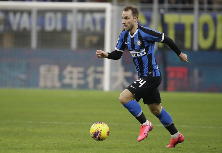 Christian Eriksen makes his Serie A debut against Udinese