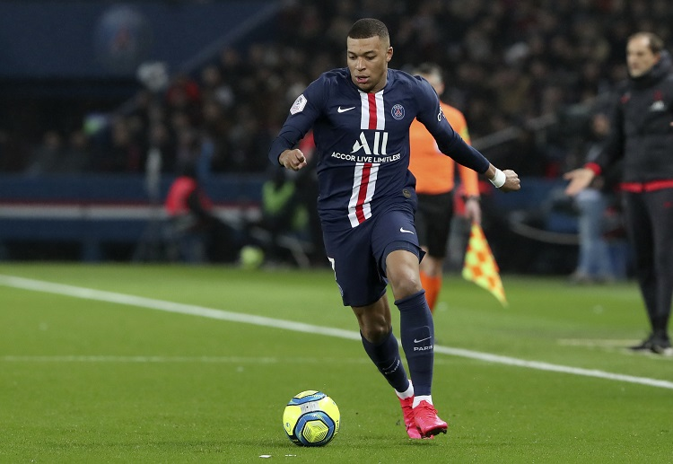 Kylian Mbappe is set to spearhead PSG in the upcoming 2019/20 Champions League Round of 16