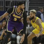Anthony Davis fits in Lebron James' shoes as Los Angeles Lakers go against Memphis Grizzlies at the FedExForum