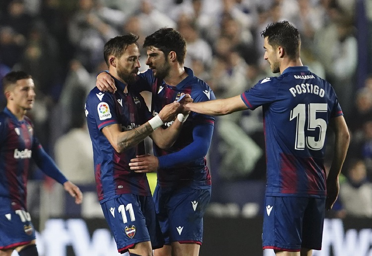 With a superb volley, Jose Luis Morales leads Levante to a La Liga victory over Real Madrid
