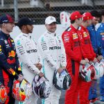 Mercedes drivers Lewis Hamilton and Valtteri Bottas are favored to lead the 2020 Formula 1