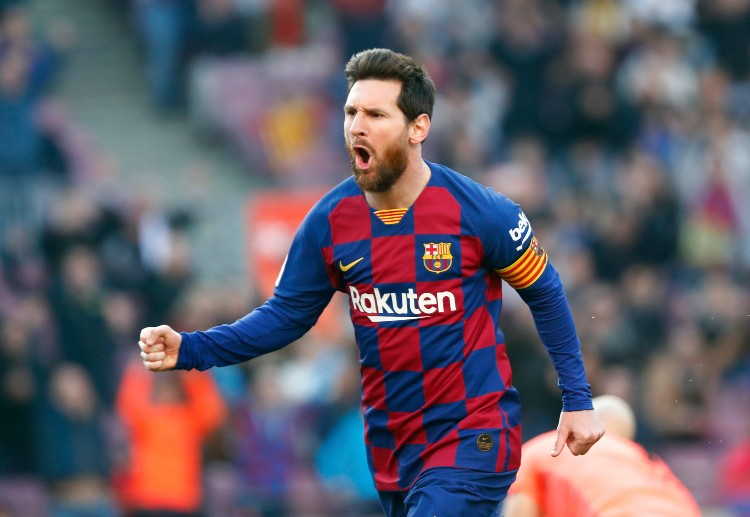 Champions League: Lionel Messi has scored 4 goals in Barcelona match against Eibar