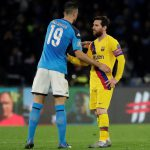 Champions League Napoli vs Barcelona: Goals from Mertens and Griezmann settled the game in 1-1 draw
