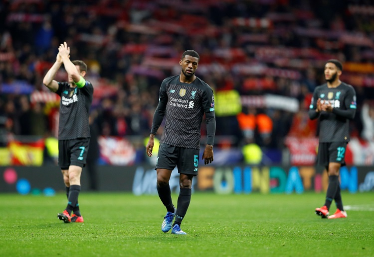 Liverpool's Champions League tie with Atletico Madrid ended into a 1-0 defeat