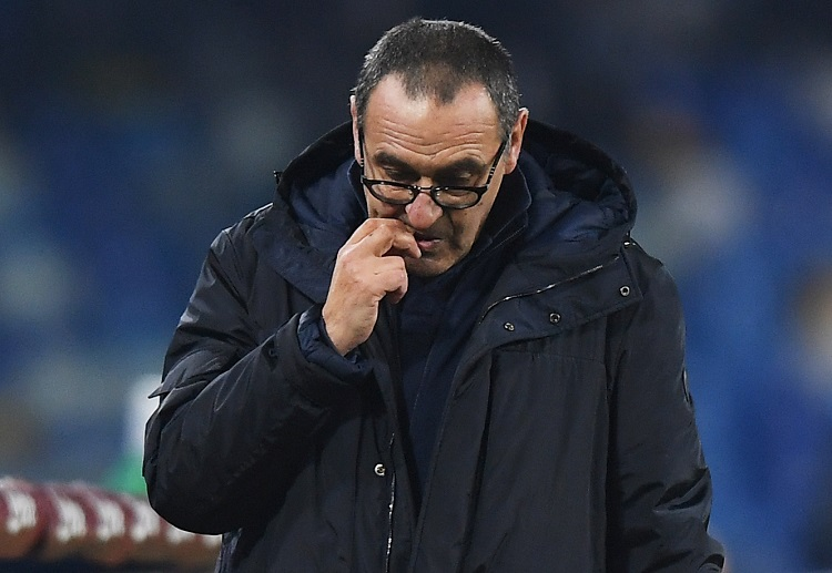 Maurizio Sarri's Juventus are sitting atop the Serie A standings