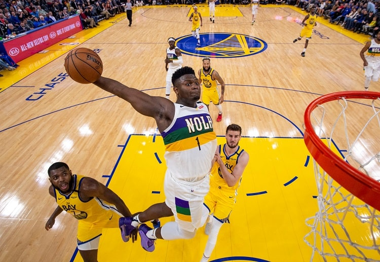 New Orleans Pelicans forward Zion Williamson will face his idol LeBron James in the NBA
