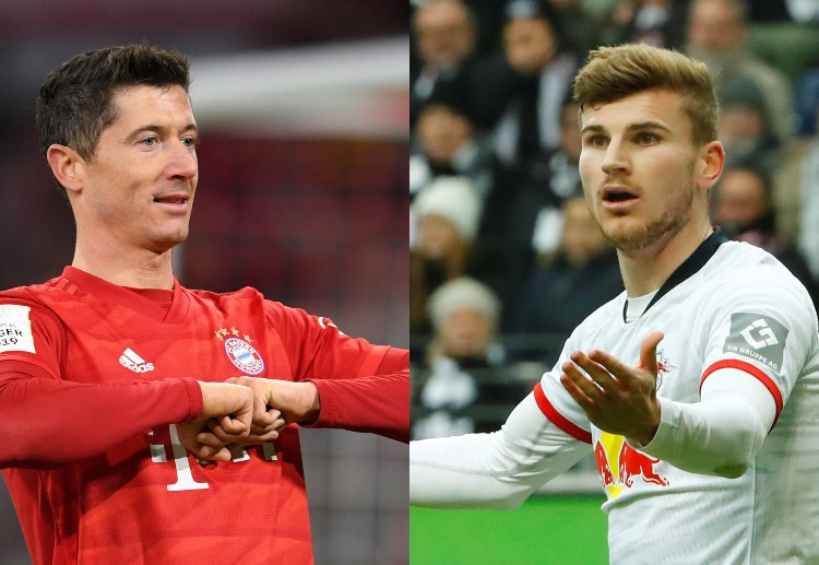 Robert Lewandowski have scored 22 goals this Bundesliga season while Timo Werner have 20 league goals