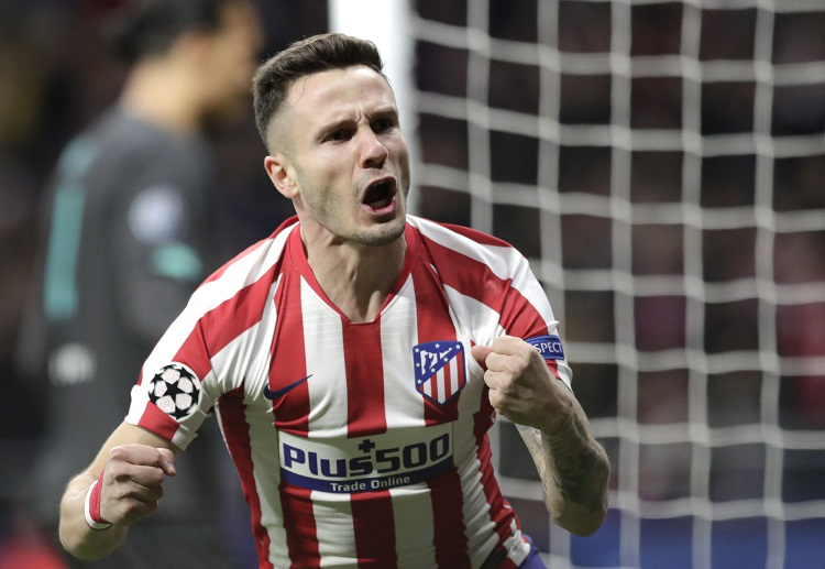Saul Niguez leads Atletico Madrid past Liverpool 1-0 in Champions League Round of 16 first leg
