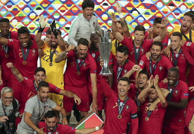 Portugal are aiming to retain their crown at Euro 2020