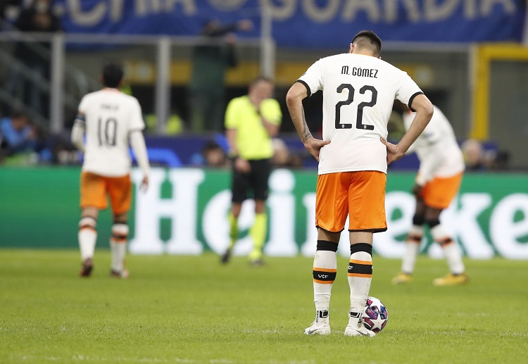 Valencia will have a lot of ground to make up when they host Atalanta for the second leg of their Champions League clash