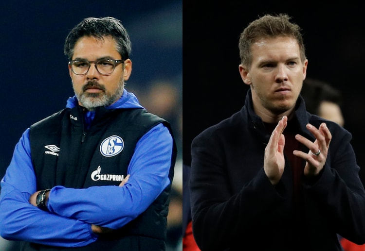 Julian Nagelsmann determined to keep RB Leipzig running for Bundeliga title against David Wagner's Schalke 04