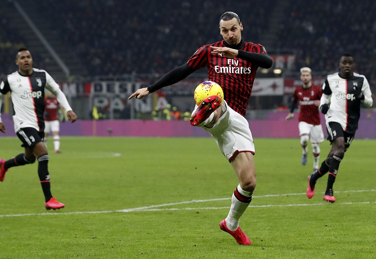 Zlatan Ibrahimovic and AC Milan failed to secure the 1-0 Coppa Italia win at home against Juventus
