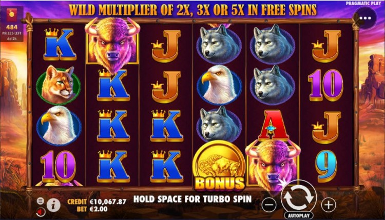 Huge payouts while lounging at home? Check out the newest slot game in town, Buffalo King!