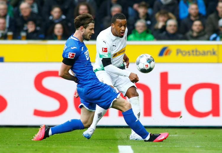 Bundesliga: Alassane Plea is currently Borussia Monchengladbach's top scorer this season with 8 goals